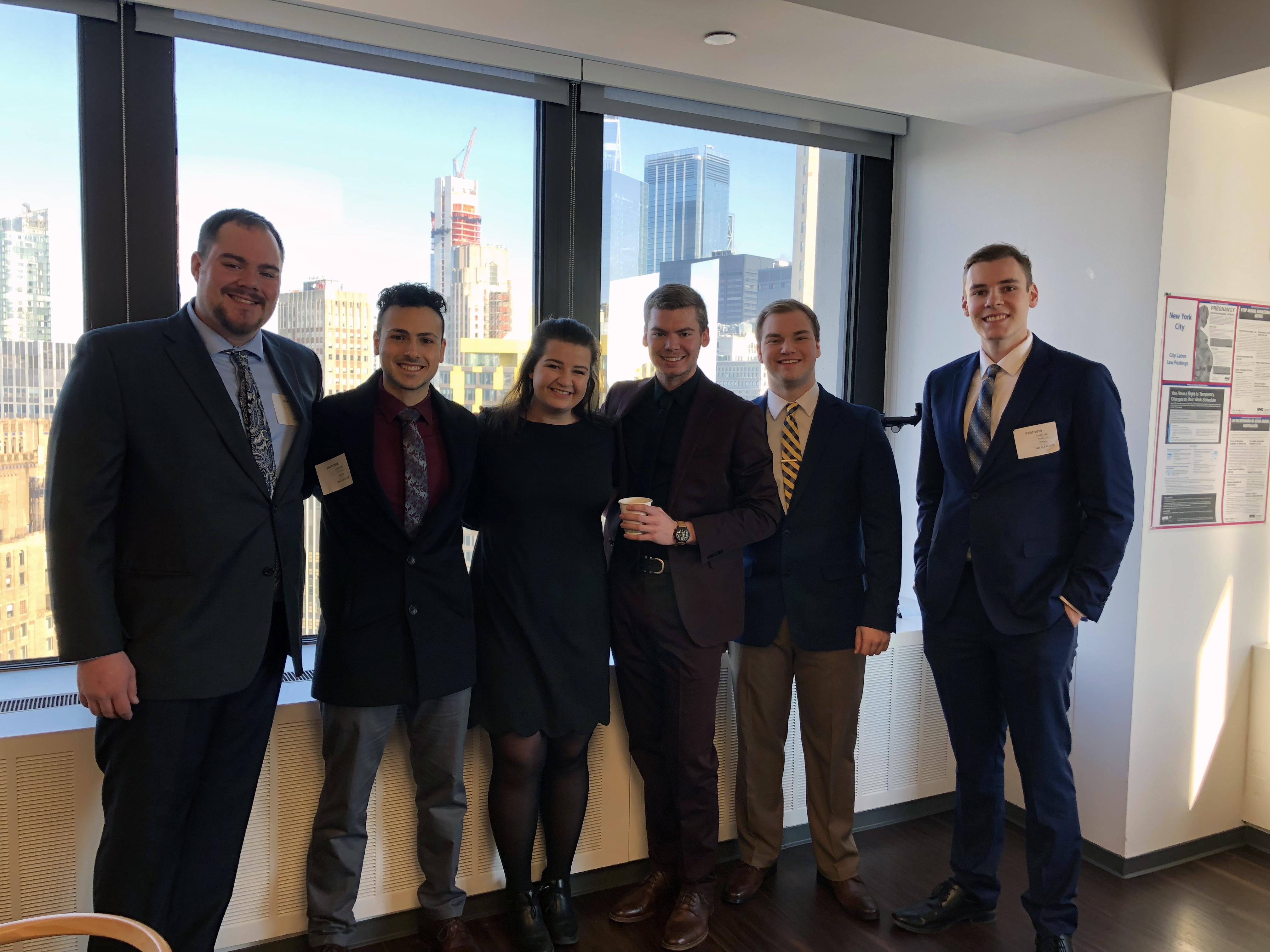 Financial Management Association Attends Finance Leaders