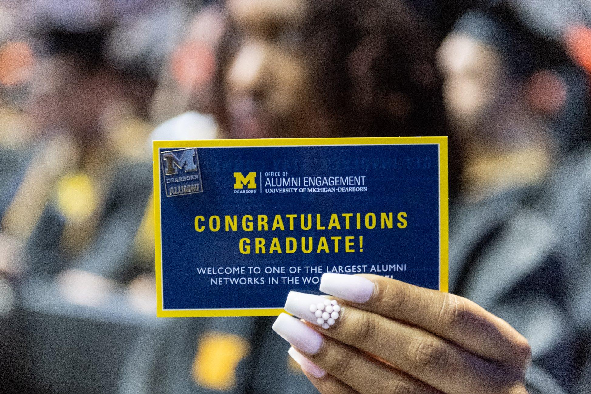 university of michigan graduation 2020