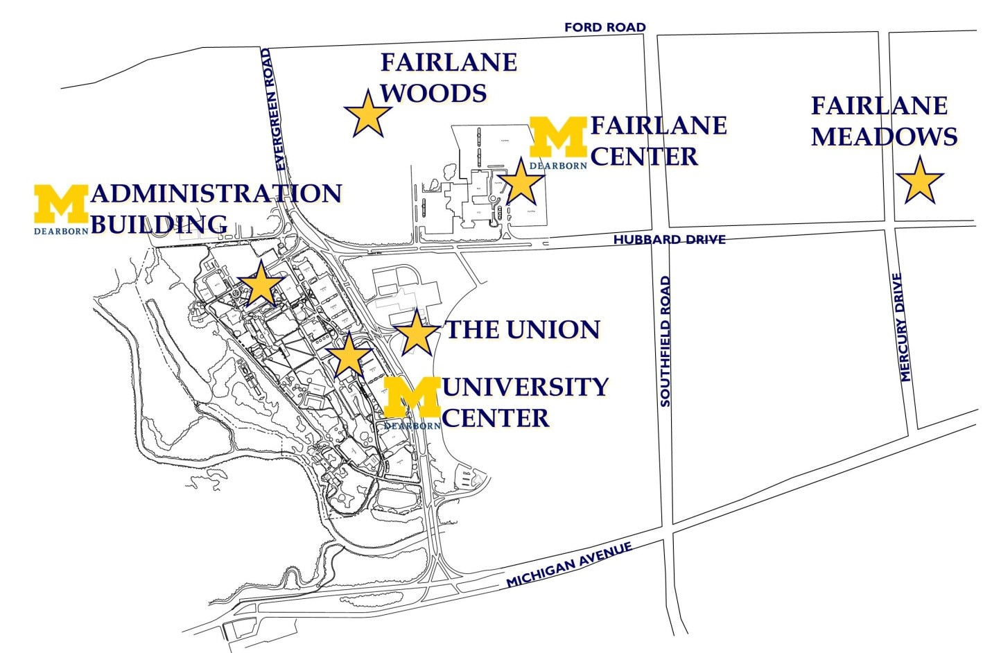 Shuttle Service on dearborn florida map, ford dearborn campus map, u of m directions, u of m students, dearborn street chicago map, dearborn mi map, u of texas austin campus map, u of m football, u of m campus, u of m ann arbor map, michigan dearborn map, u of m jokes, u of m hospital map, u of m michigan map, u of michigan hospital map, u of m minneapolis map, u of m symbol,