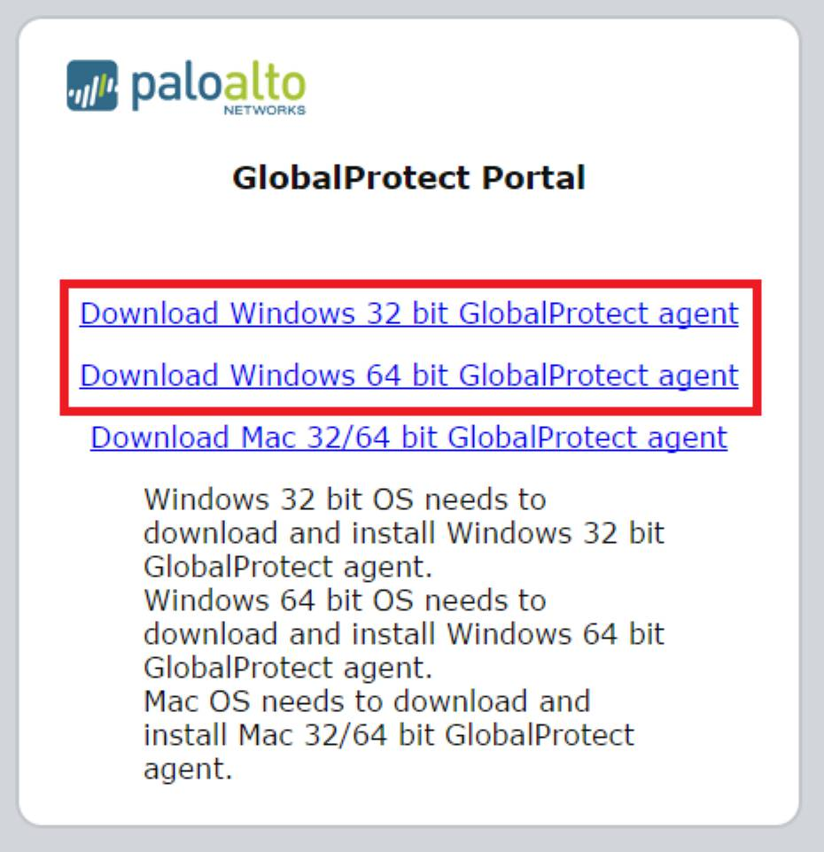 Globalprotect Change Password