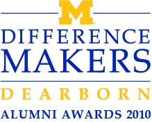 UM-Dearborn Difference Makers logo
