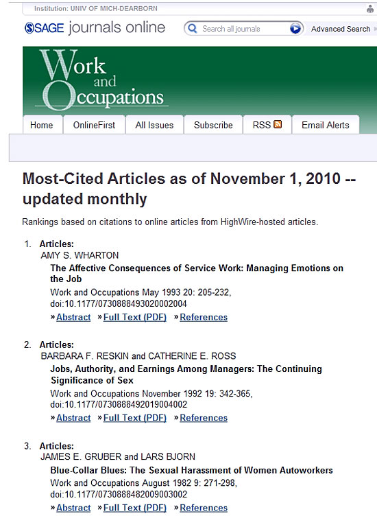 Articles On Sexual Harassment