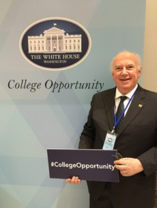 UM-Dearborn Chancellor Little at White House College Opportunity Day of Action