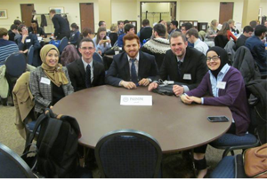 UM-Dearborn Model Arab League team