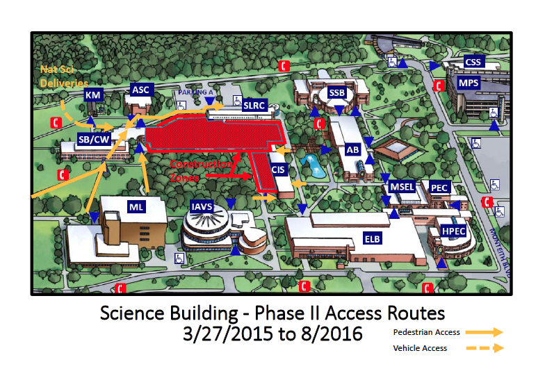 uofm dearborn campus map First Phase Of Science Building Renovations Completed