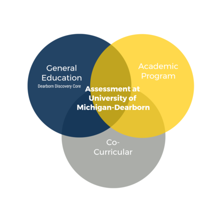 Three types of assessment at UM-D