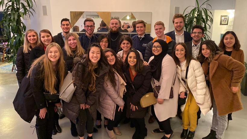 American Marketing Association tours Agency EA.