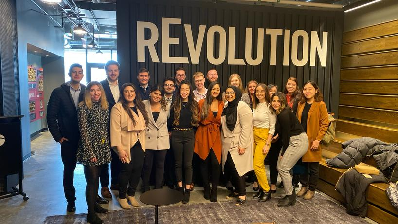 American Marketing Association tours rEvolution, a mid-sized sports marketing agency.