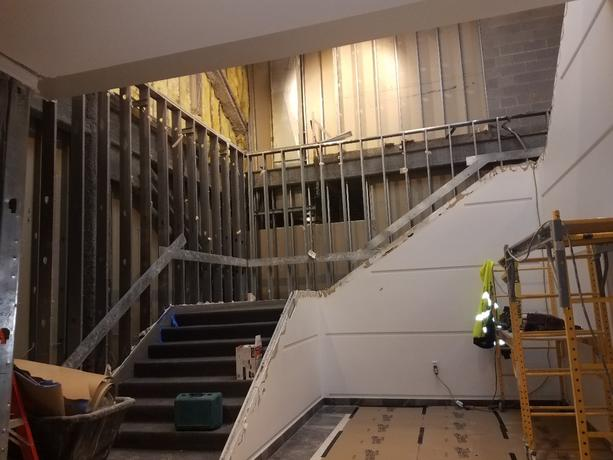 Remodeling at UM-Dearborn campus