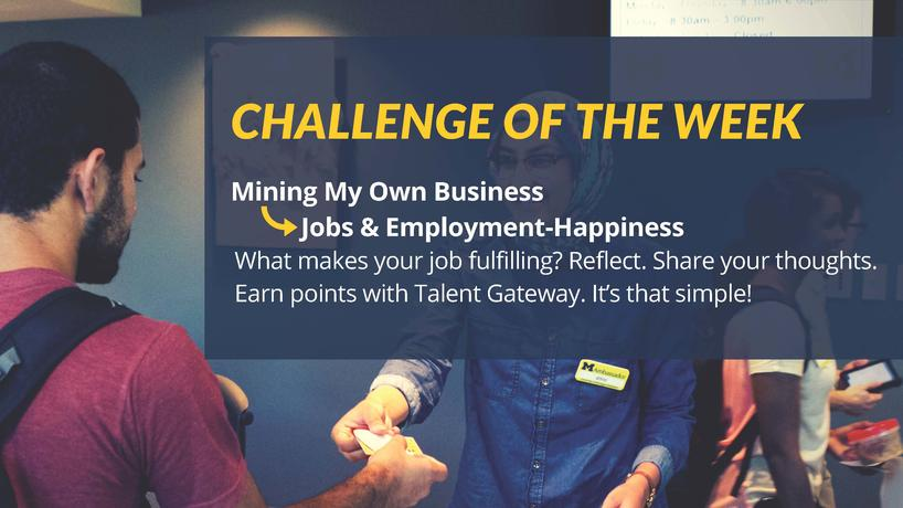 Twitter challenge image - happiness at work