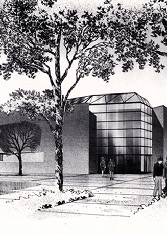 1976: Regents approve architectural and cost study for student center (University Mall).