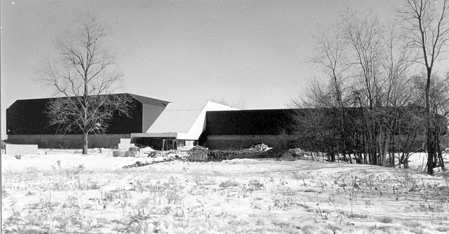 The Field House and Ice Arena building in 1978