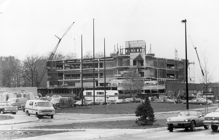 1979: Construction of Mardigian Library.