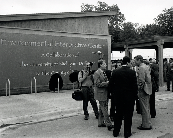 May 25, 2001: Grand Opening of the Environmental Interpretive Center.