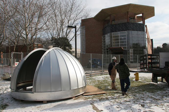 October 27, 2006: Dedication of the new Science Learning and Research Center.
