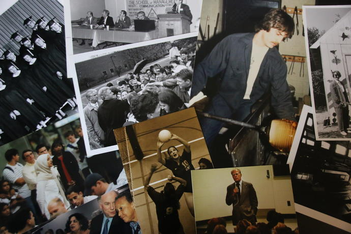 Photos in the campus archive