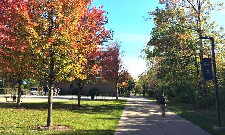 Fall brings out vibrant colors across campus