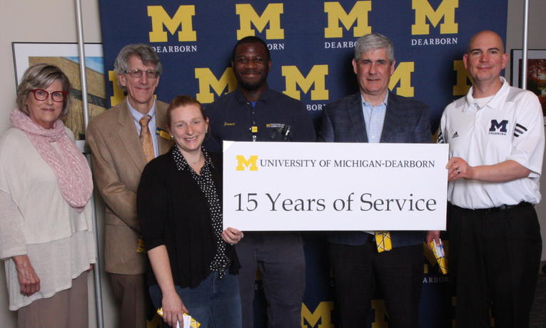 2019 Chancellor Staff Recognition Award, staff with 15-year anniversary