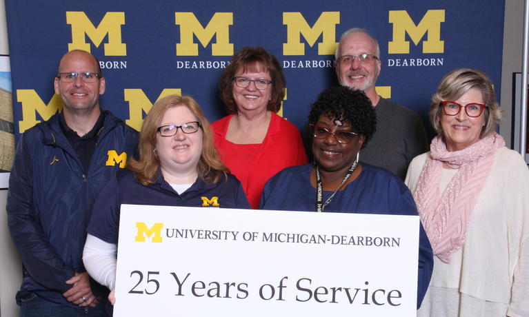 2019 Chancellor Staff Recognition Award, staff with 25-year anniversary