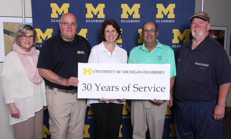 2019 Chancellor Staff Recognition Award, staff with 30-year anniversary
