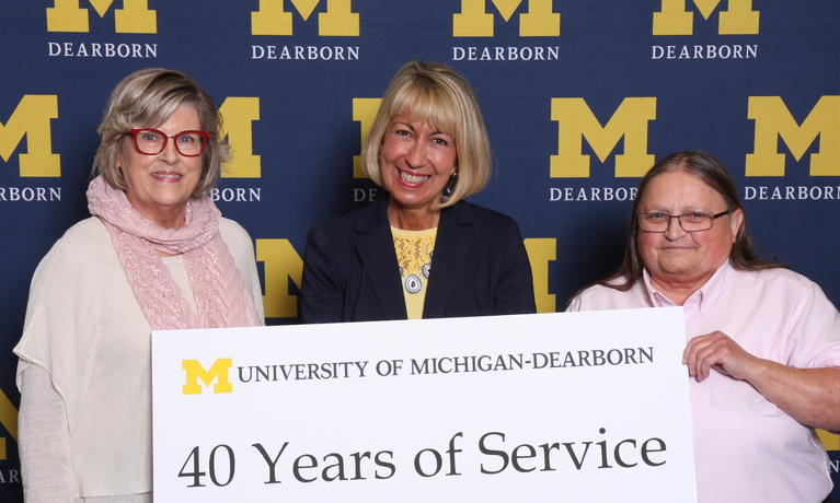 2019 Chancellor Staff Recognition Award, staff with 40-year anniversary