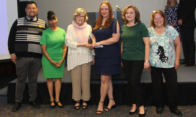 Chancellor's Staff Recognition Awards Team Award winner: Counseling and Psychological Services