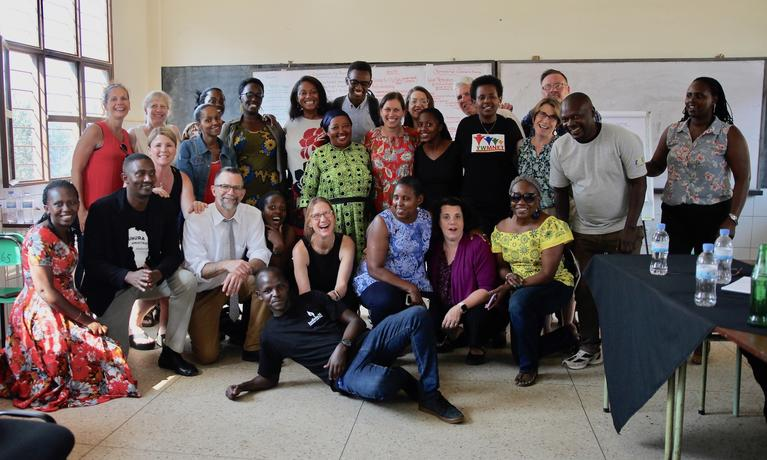 CASL faculty members traveled to Rwanda this summer.