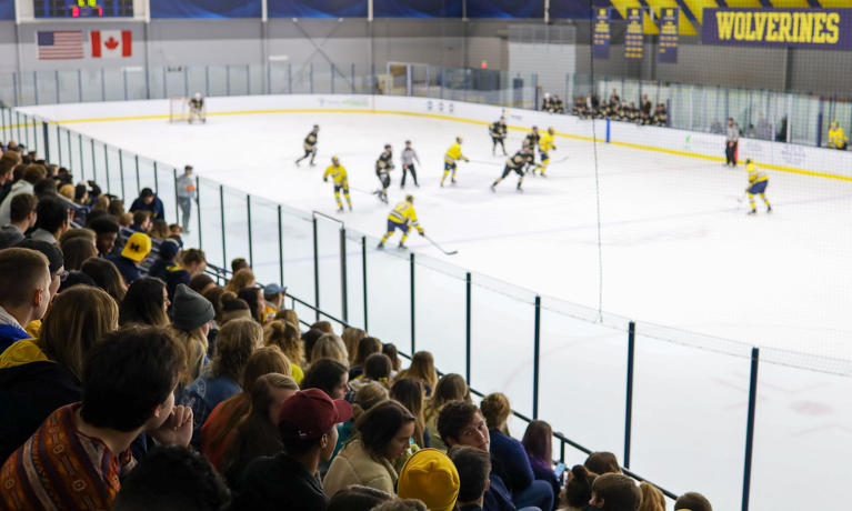 Wolverine men's ice hockey game