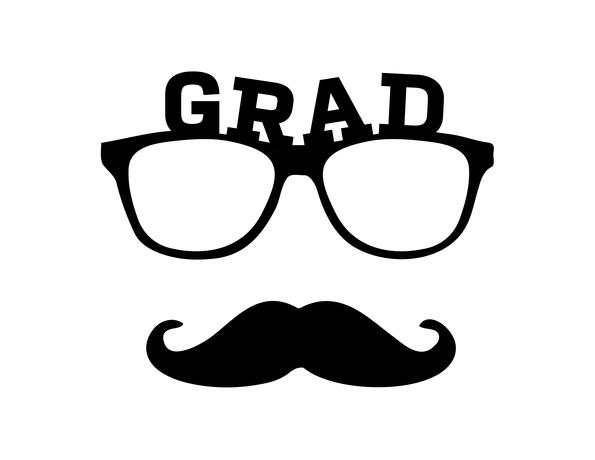 Graduation Glasses Prop