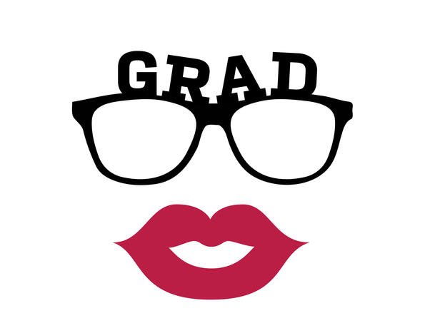 Graduation Prop Lips