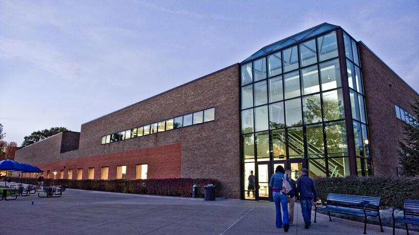 Exterior of the University Center