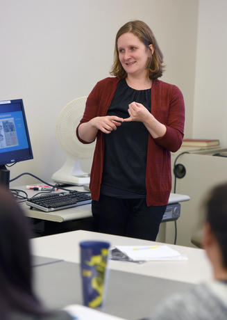 Assistant Professor Natalie Sampson
