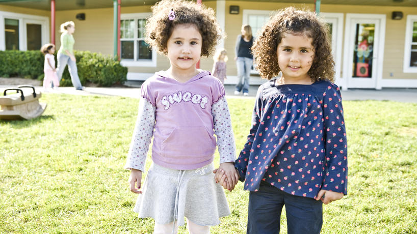 Two children at ECEC