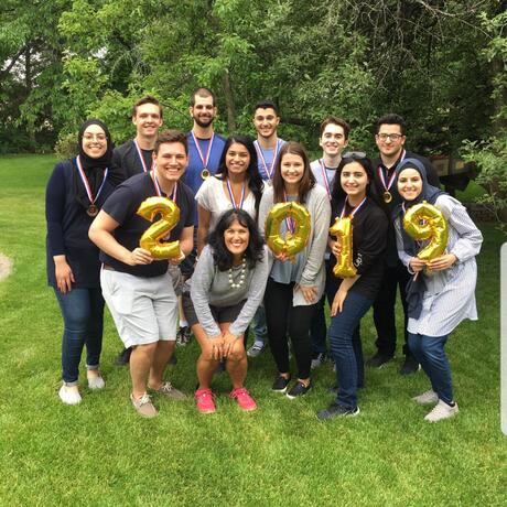 EMRAP 2018-19: UM-Dearborn and Madonna University students