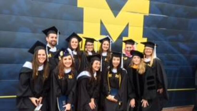 MS in Psychology graduates
