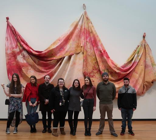 Art History Association trip to the University of Michigan Museum of Art March 2019