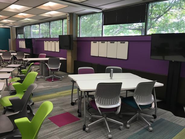 Active Learning Classroom, Mardigian Library