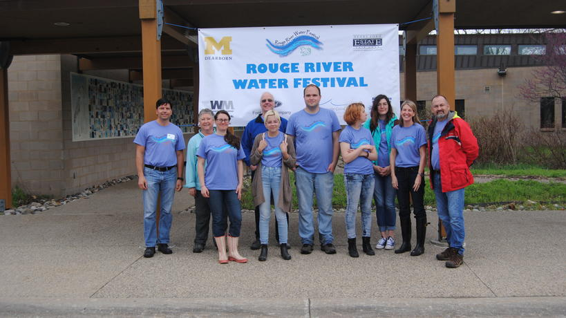 Rouge River Water Festival Volunteers