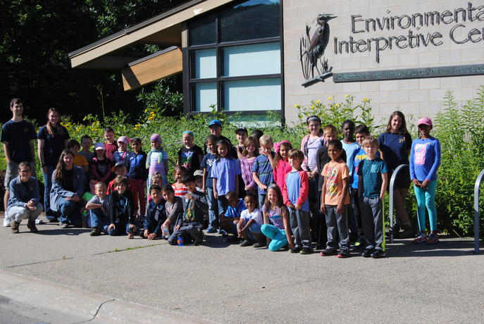 Young Naturalists Program Group Photo
