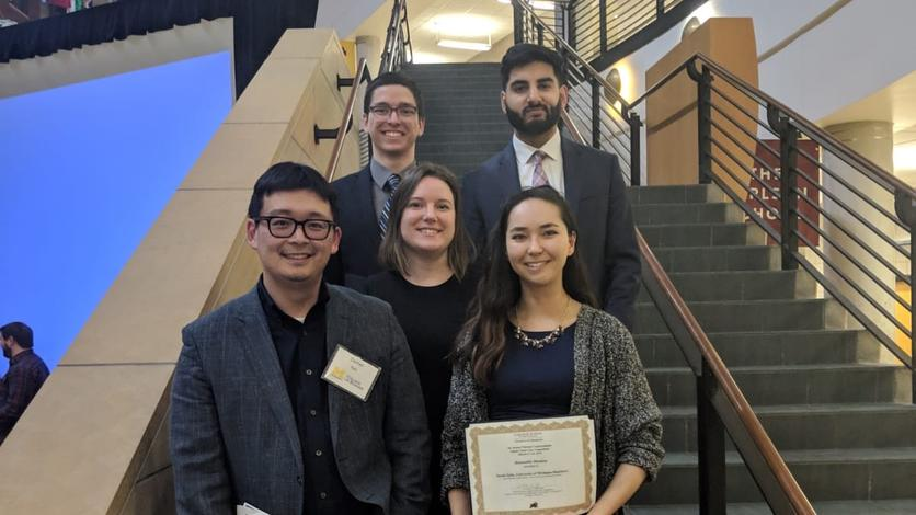COB's Supply Chain Association represented University of Michigan-Dearborn at the National Undergraduate Supply Chain Case Competition in Minnesota.
