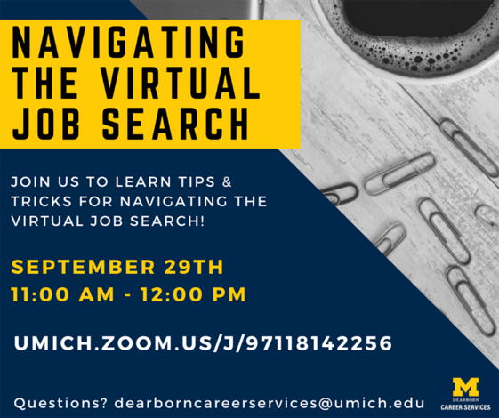 Navigating the Virtual Job Search Workshop