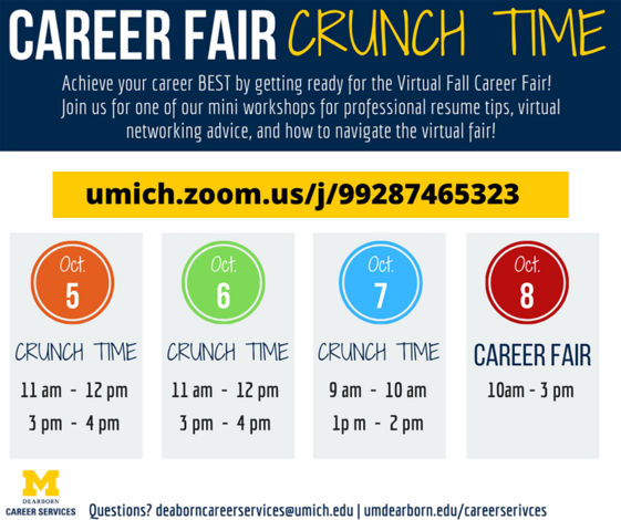 Career Fair Crunch Time