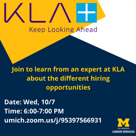 KLA Info Session!
