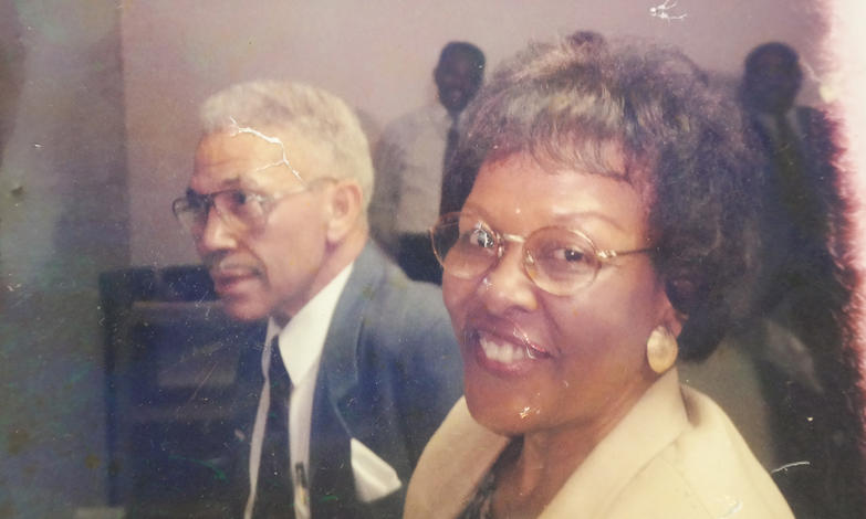 Hill's parents, Ural Hill Sr. and Florence Manciel Hill