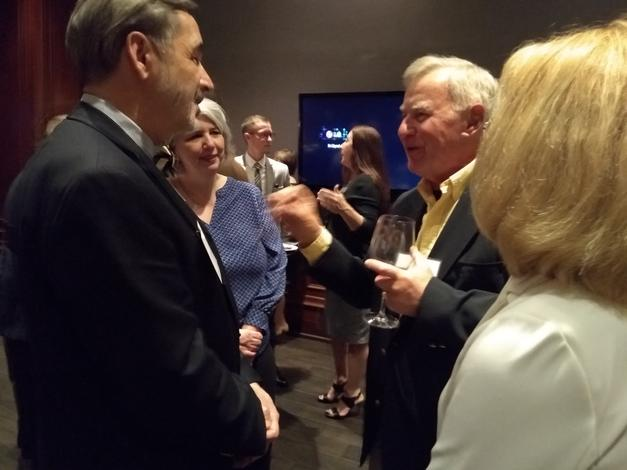 February 13, 2019: Chancellor Grasso attends an alumni networking event in Naples, Florida.