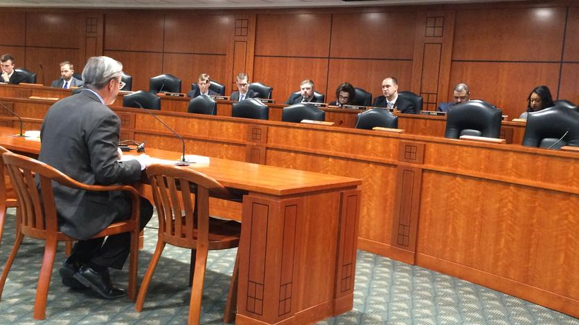 February 28, 2019: Chancellor Grasso testifies before the House Appropriations Subcommittee on Higher Education and Community Colleges in Lansing. He shared a profile of our student body and the impact of UM-Dearborn.