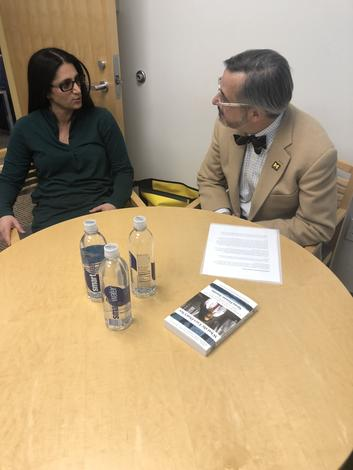 March 18, 2019: Dr. Mona Hanna-Attisha, a key researcher in the Flint water crisis, visits campus.