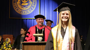 Megan McDonald named 50,000th UM-Dearborn graduate