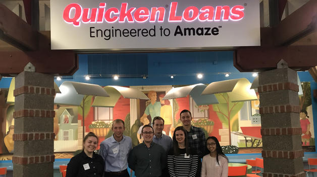 Beta Alpha Psi volunteering at Quicken Loans JA Finance Park