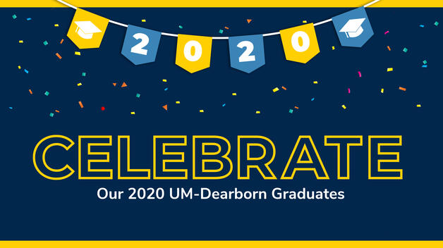 Graphic for celebrating 2020 grads